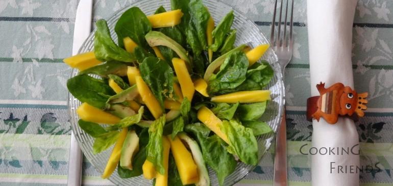 Жълто-зелена салата