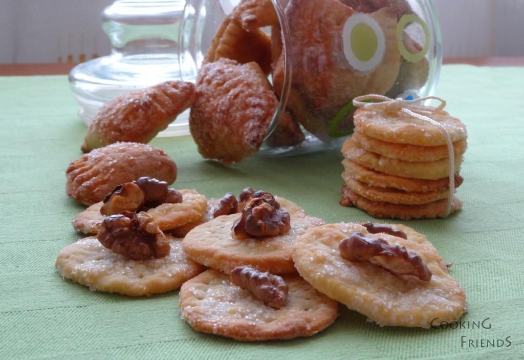 Датски бисквити с крема сирене