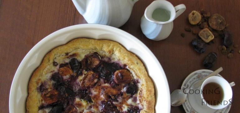 Изкусителен пай със смокини, фурми и маскарпоне