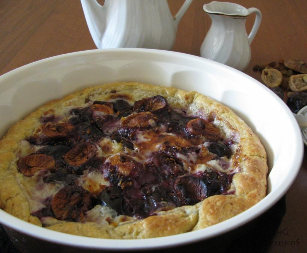 Изкусителен пай със смокини,фурми и маскарпоне