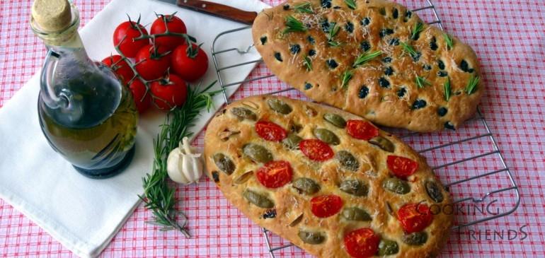 Фокача с маслини