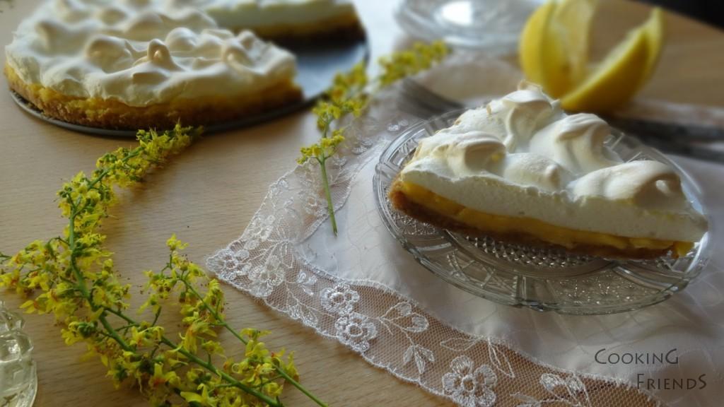 Лимонов сладкиш с нежни целувки