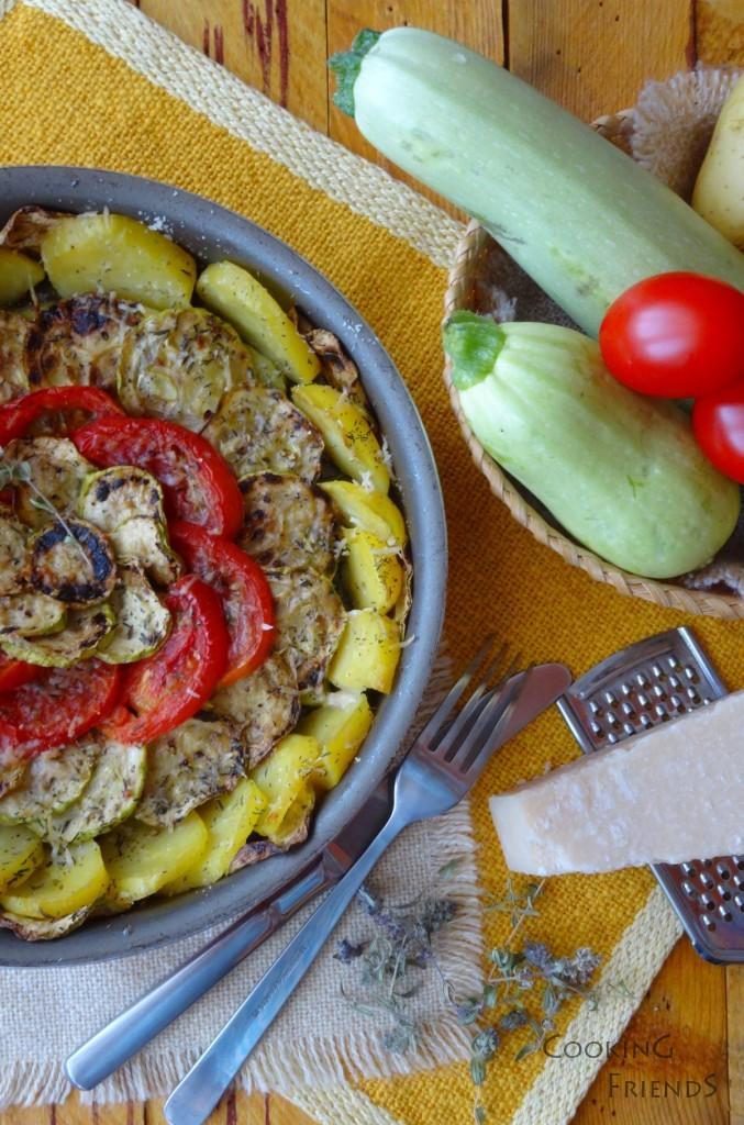 Зеленчуци със средиземноморски привкус