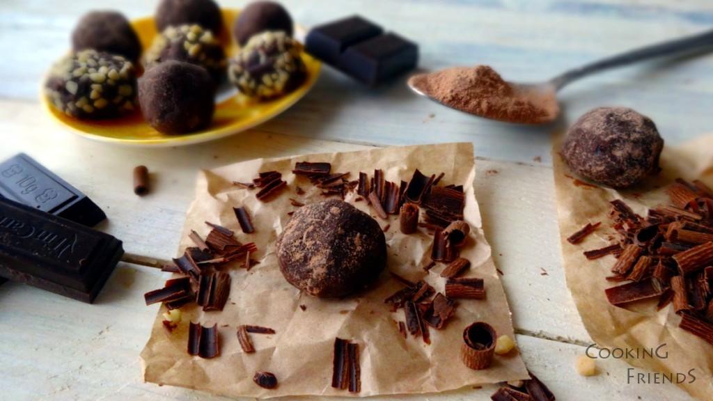 Домашни шоколадови трюфели с Бейлис