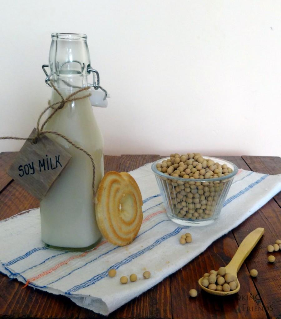Домашно соево мляко