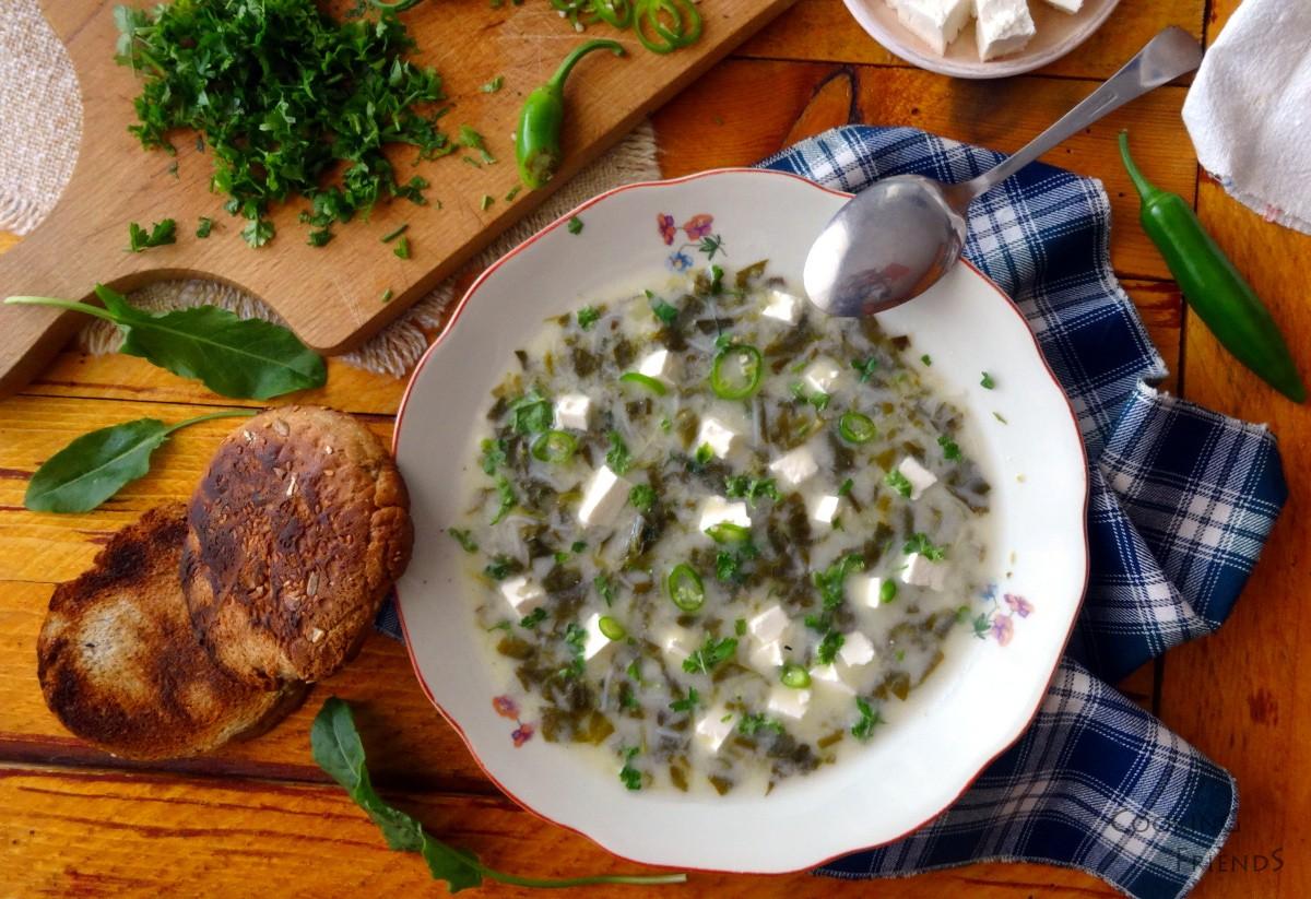 15-минутната супа от киселец на баба