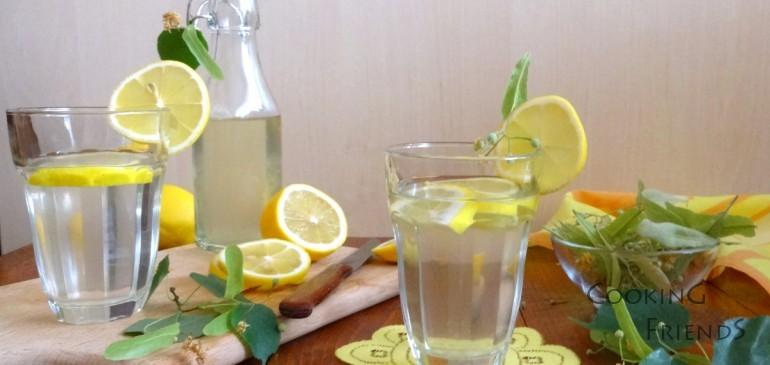Домашен сироп от липа и лимони
