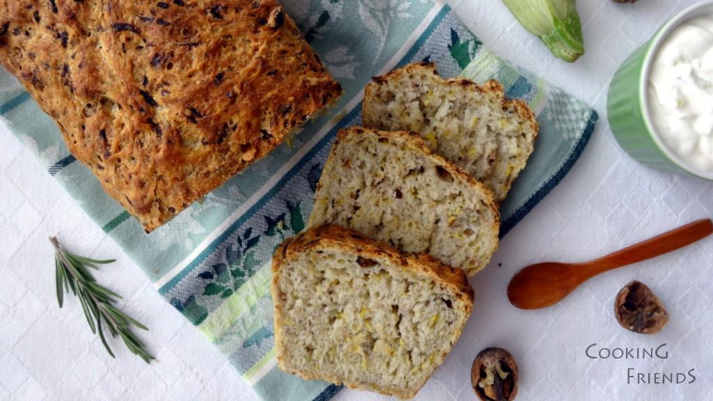 Хрупкав хляб с тиквички и розмарин