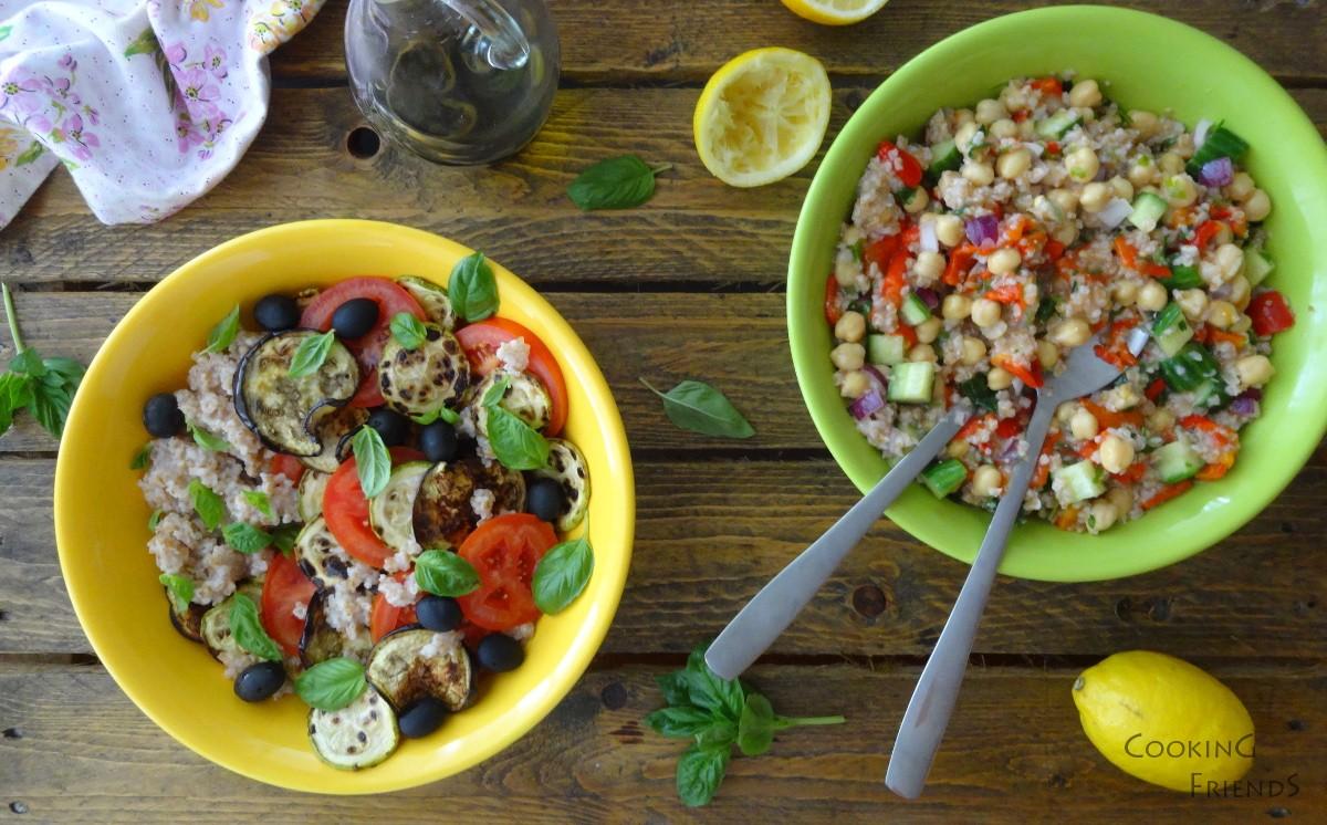 2 вкусни салатки с булгур