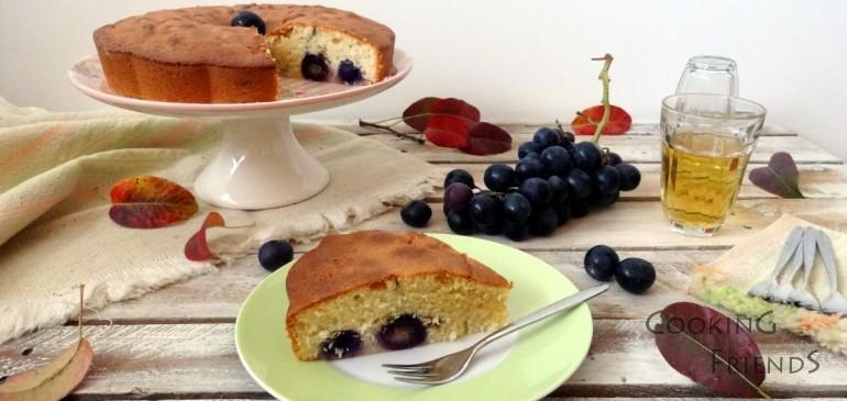 Да се порадваме на есента-кейк с вино, грозде и стафиди