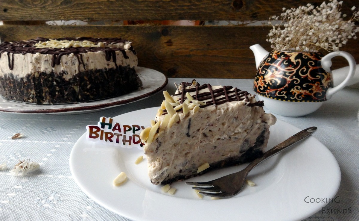 Торта с шоколад,кестени и маскарпоне