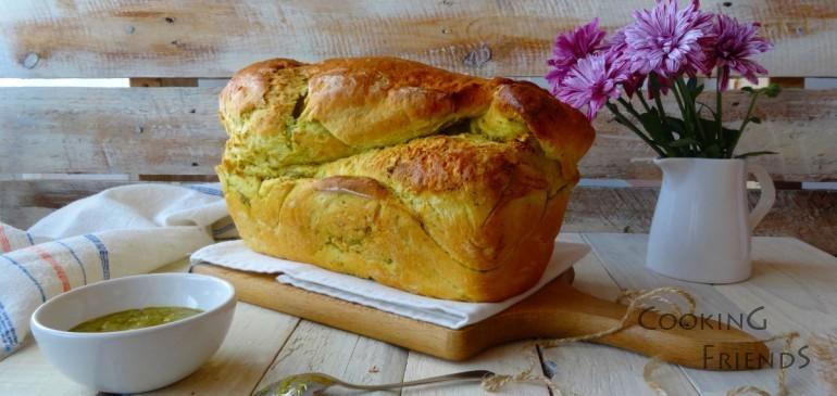 Хляб с босилеково песто