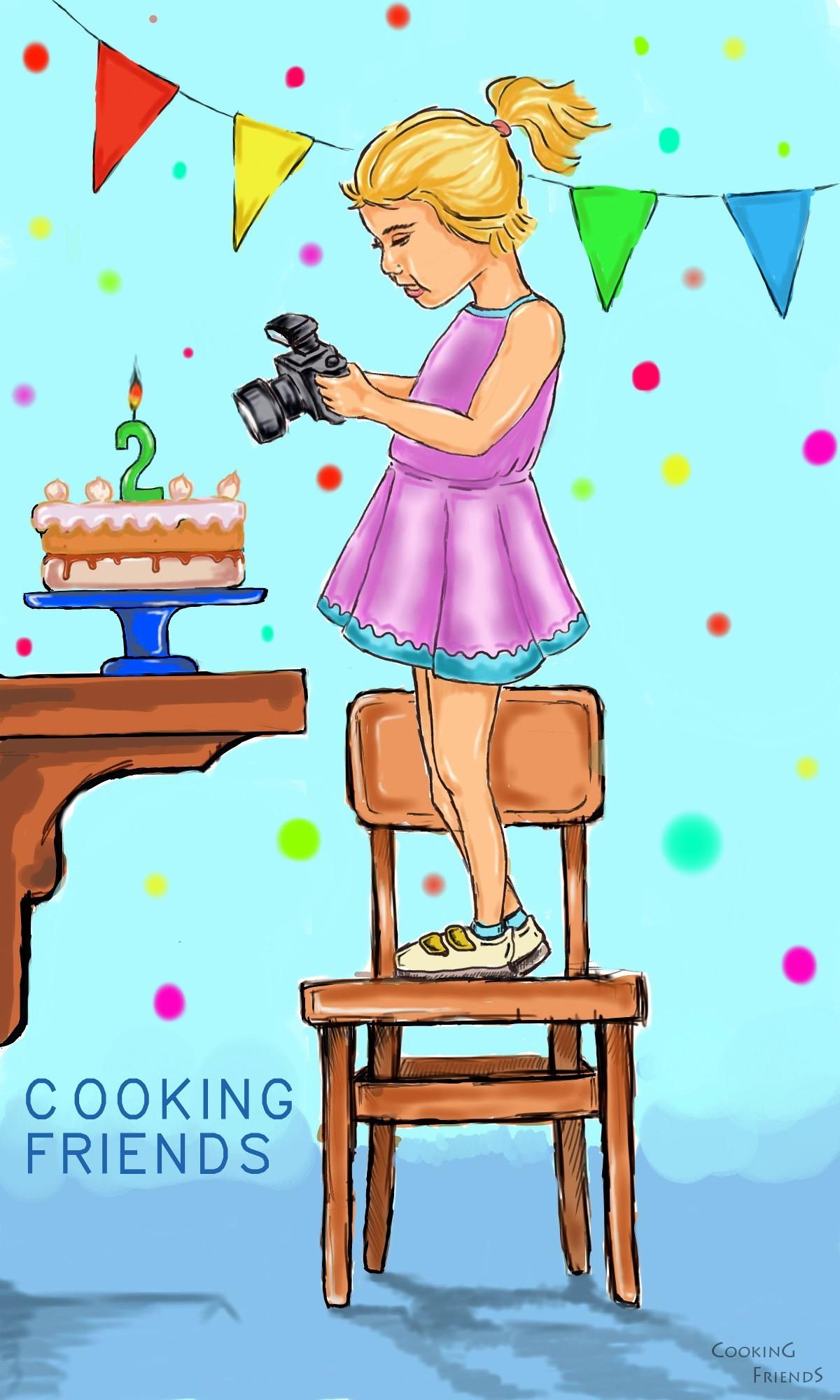 Специални благодарности на Пламен за прекрасните рисунки, с които украсява блога. Обожавам ги! :)