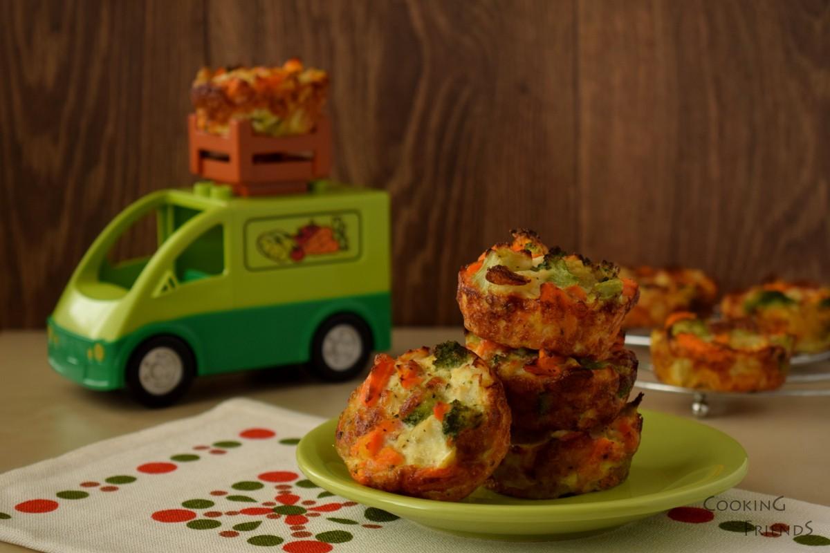 Зеленчукови мъфини
