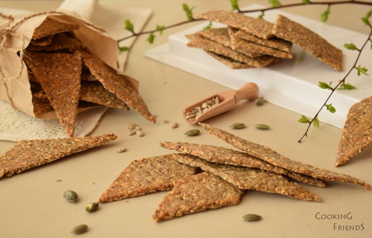 Крекери 4-ри вида семена