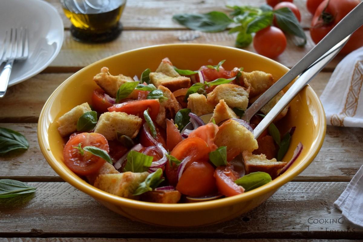 Тосканска салата Panzanella