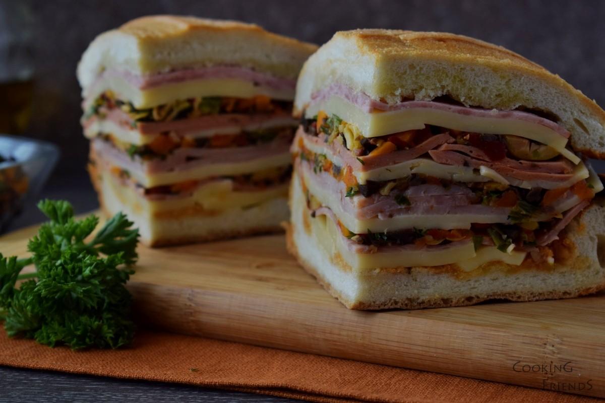 Сандвич Muffaletta