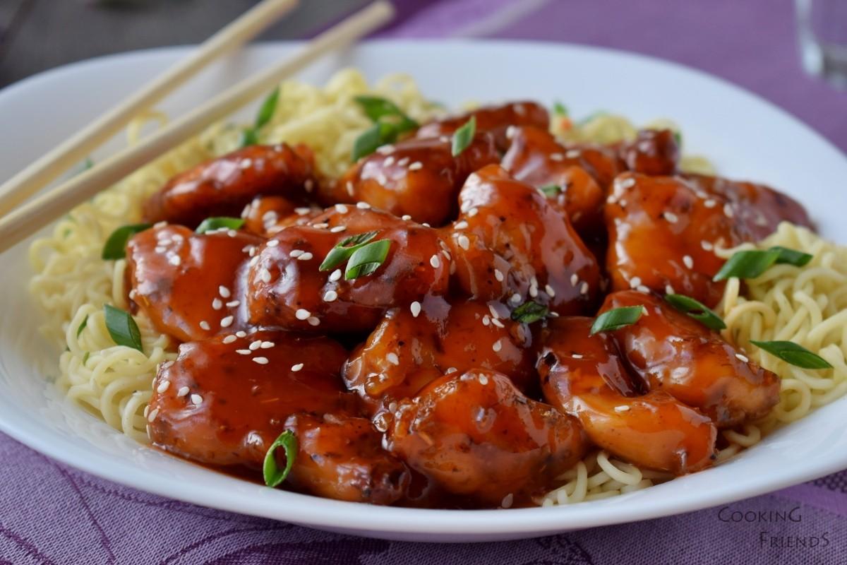 Пилешки хапки в сладко-кисел сос