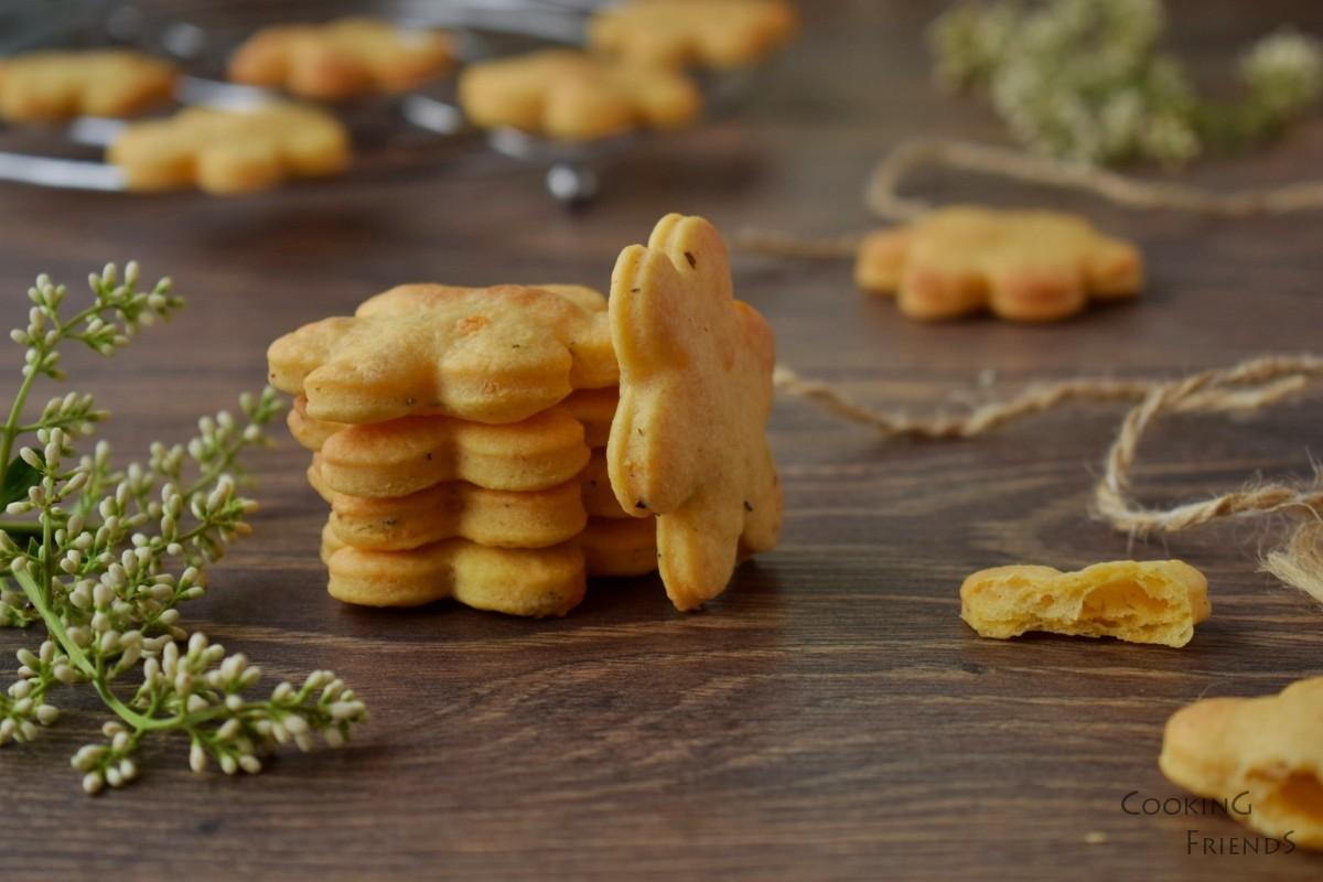 Солени бисвкитки със сирене Чедър