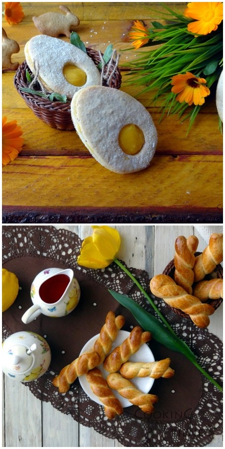 Великденски яйчица и гръцки лимонови сладки
