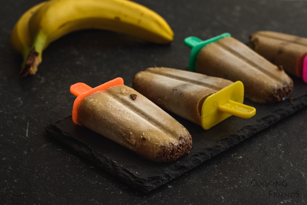 Кокосов сладолед с банани
