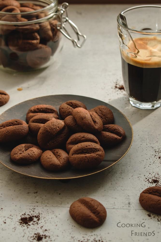 Бисквитки Кафени зърна