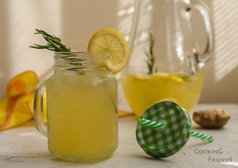 Джинджифилова лимонада с розмарин
