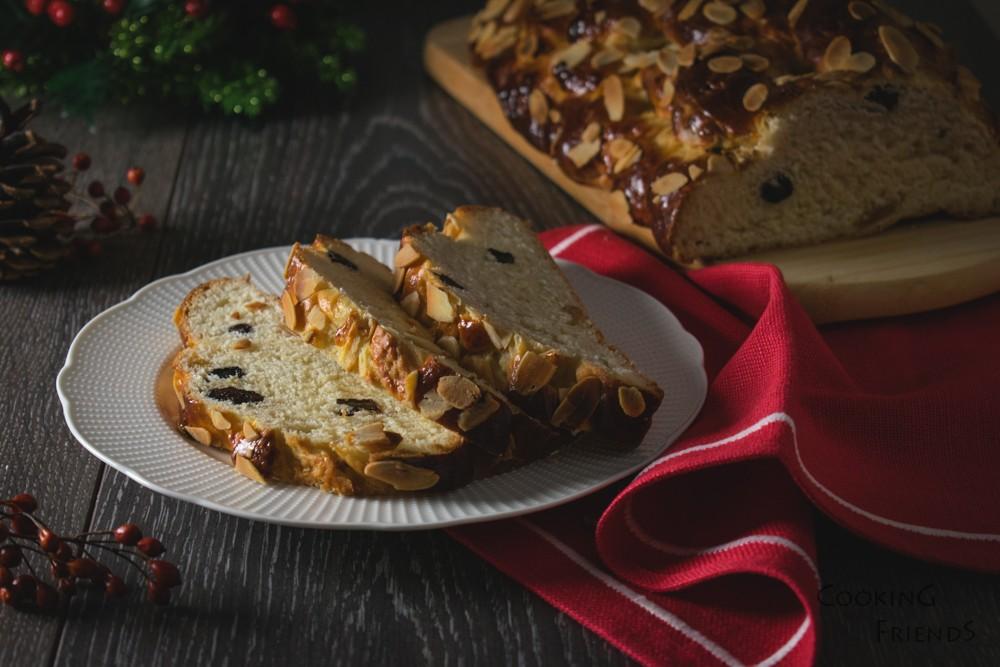 Чешки коледен хляб Vanocka