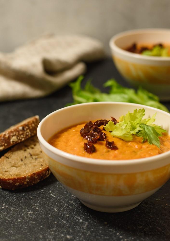 Крем супа от боб и зеле