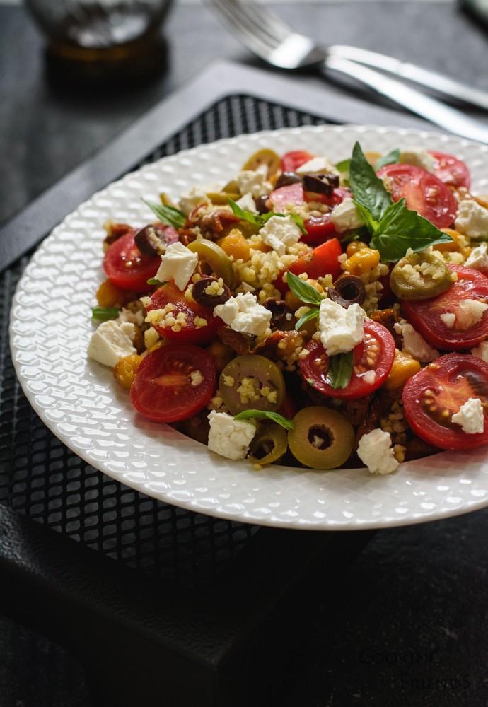 Най-добрата салатка с просо и нахут
