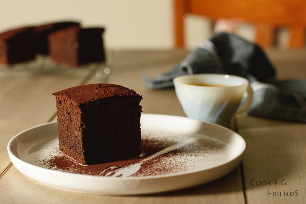 Шоколадов кейк с вино