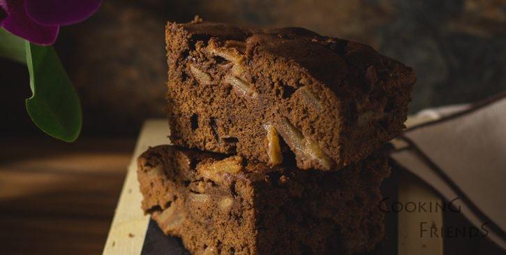 Шоколадов кейк с круши