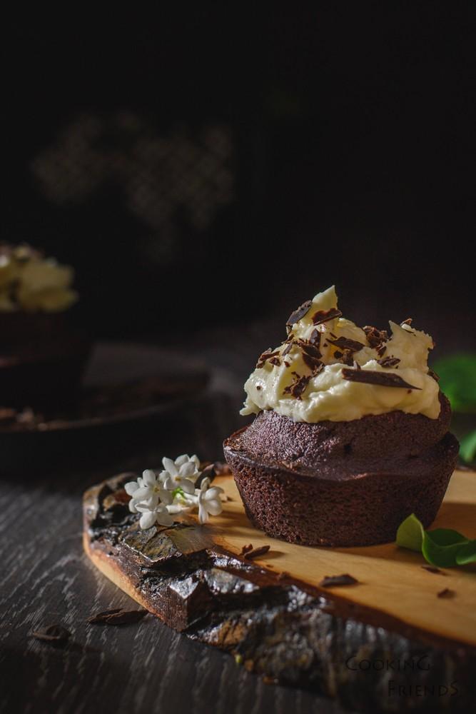 Шоколадов къпкейк с тъмна бира