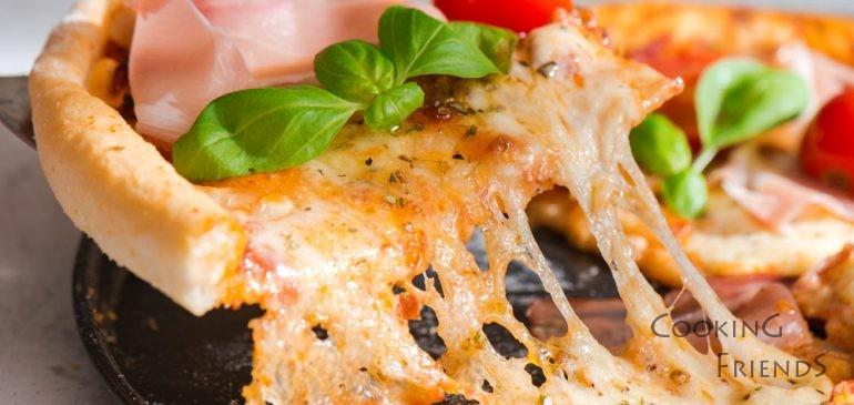Италианска пица с домашен сос+ВИДЕО :)