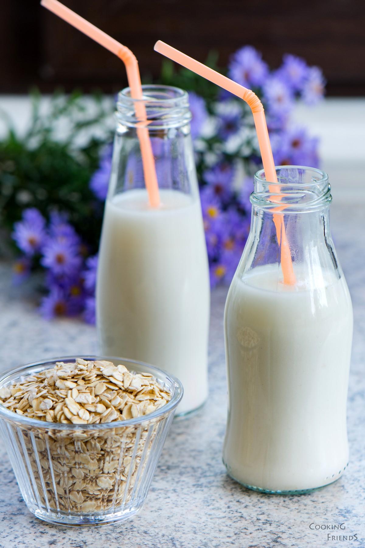 Домашно овесено мляко