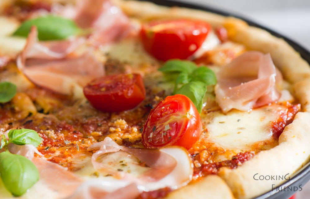 Любимата ми домашна италианска пица