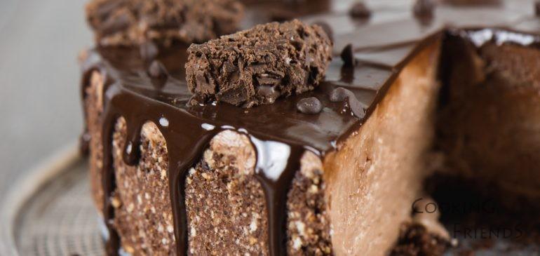Съвършеният шоколадов чийзкейк без печене+ВИДЕО:)