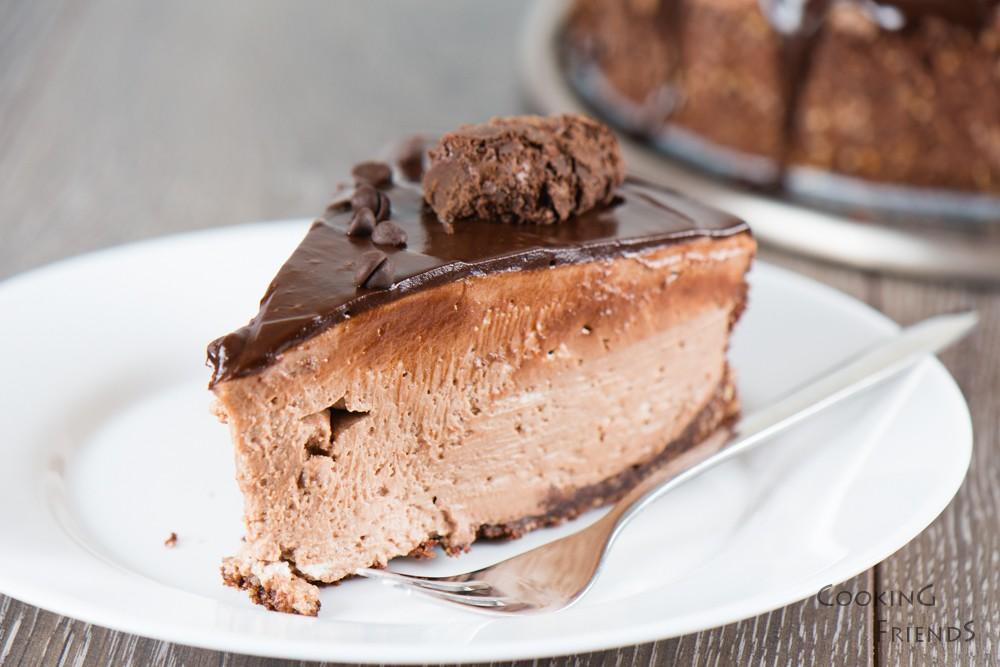 Съвършеният шоколадов чийзкейк без печене