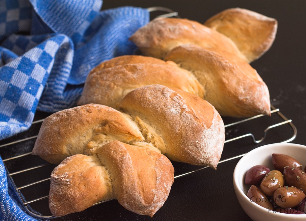 Хрупкав френски хляб Pain d'Epi