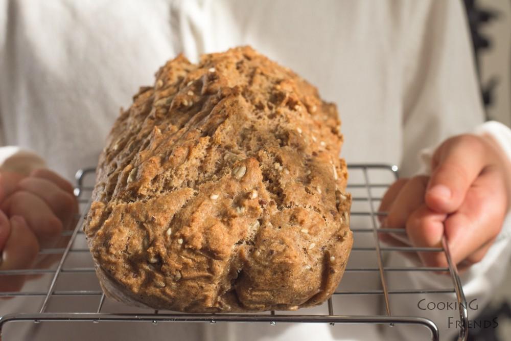 Хляб от лимец без месене