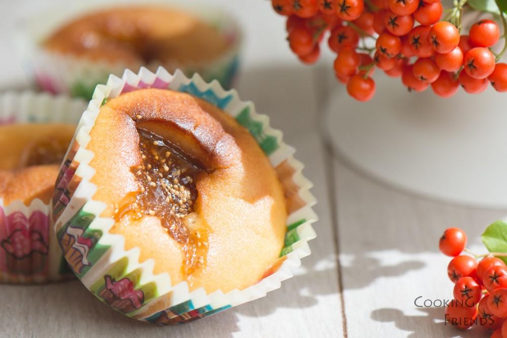 Лесни кексчета със сладко от смокини