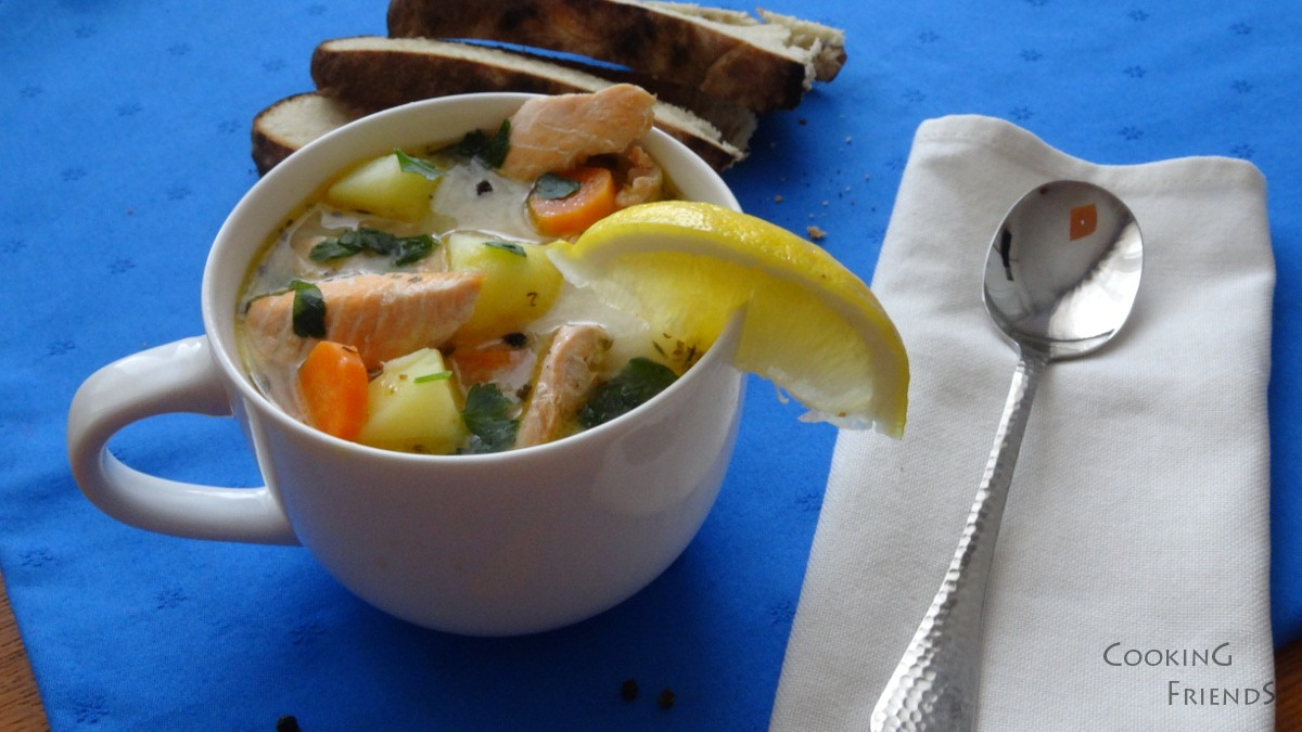Рибена супа от сьомга