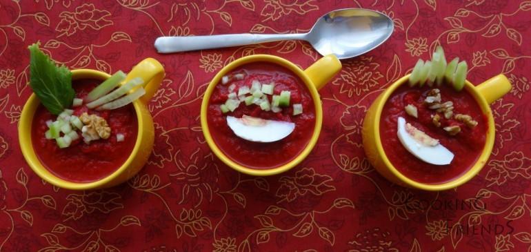 Розова супа