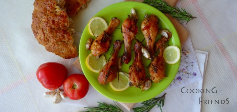 Розмаринови пилешки бутчета
