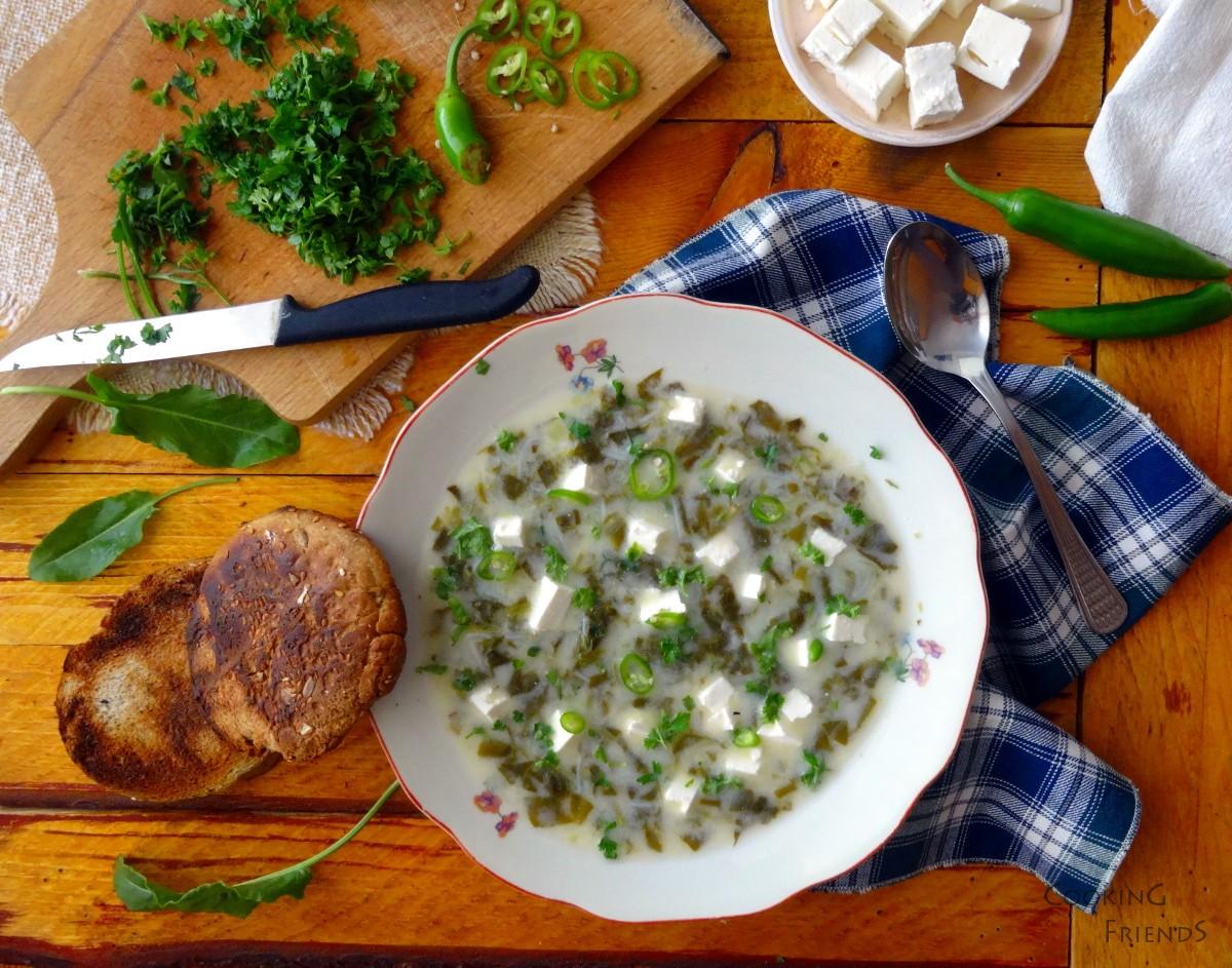 20-минутната супа от киселец на баба