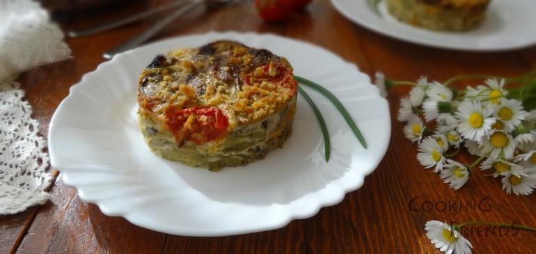 Зеленчуков огретен с хрупкава коричка