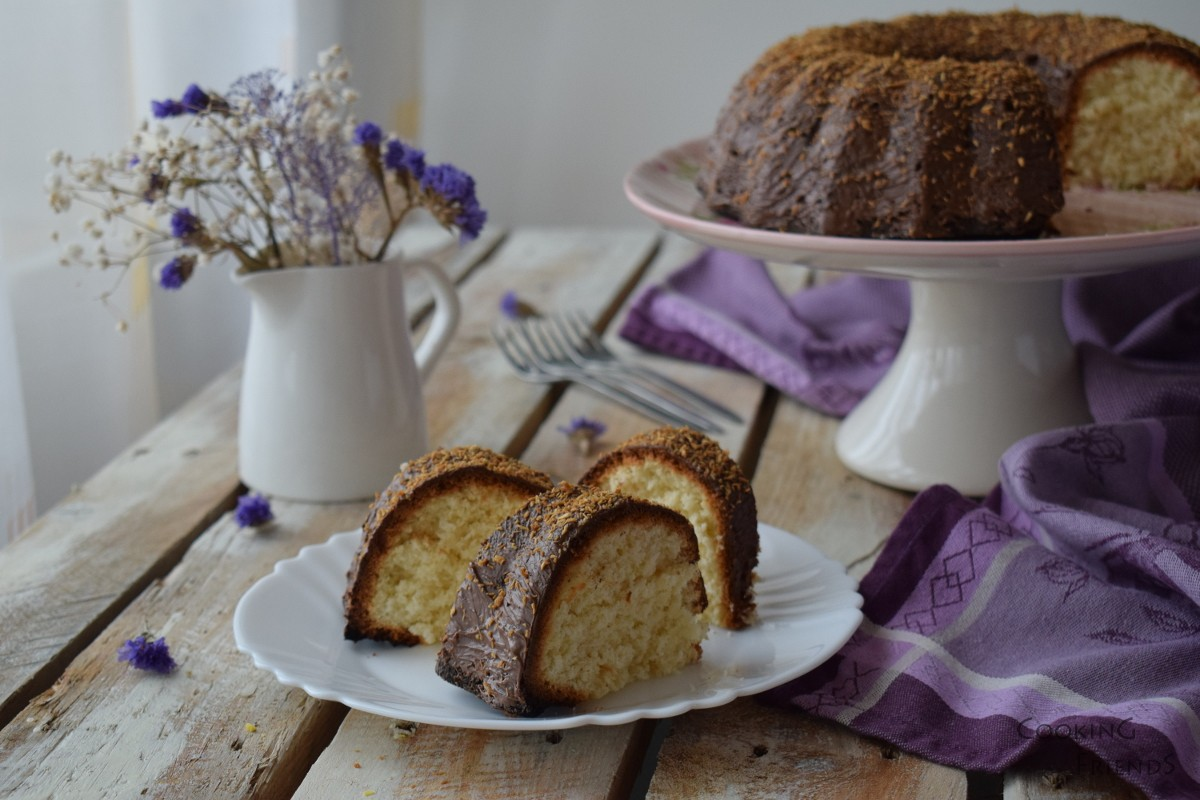 Кейк с лайм и кокос