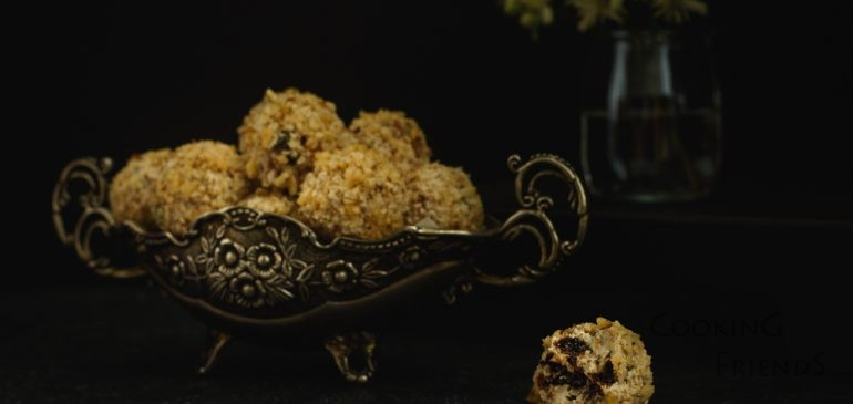 Бонбони от сирена, сини сливи и орехи