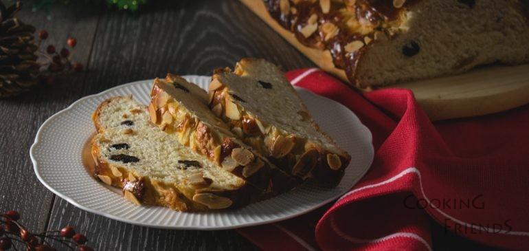Чешки коледен хляб Vánočka