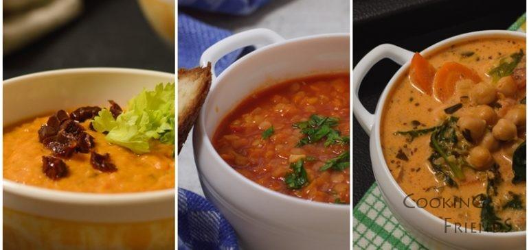 3 вкусни и полезни супи